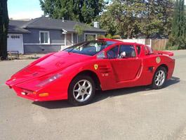 Replika Ferrari Enzo, která se nepovedla: titulní fotka