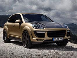 TopCar Cayenne Vantage Gold: Bodykit a kola za dva miliony navíc: titulní fotka