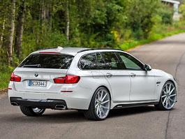 BMW řady 5 Touring umí zazářit: titulní fotka