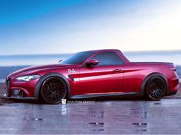 Alfa Romeo Giulia QV jako sportovní... pick-up!: titulní fotka