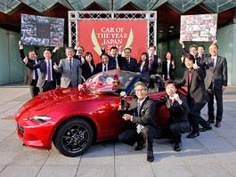 Mazda MX-5 je Japonským autem roku 2015-2016: titulní fotka