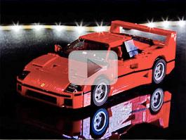 Ferrari F40 z Lega je perfektní dárek k Vánocům (video): titulní fotka