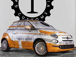 Pětistovky od Garage Italia Customs ve stylu droidů ze Star Wars: titulní fotka