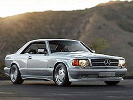 AMG Mercedes 560 SEC Wide Body: Široká C126 mění majitele: titulní fotka