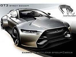 BMW M4 Coupé se proměňuje v Mamba GT3 Street Concept: titulní fotka