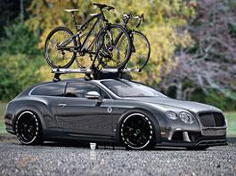Bentley Continental GT jako stylový shooting brake: titulní fotka
