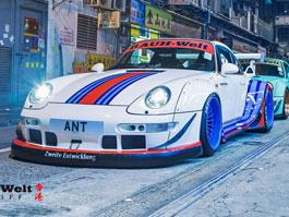 RAUH-Welt Begriff se pořádně zakousl do Porsche 911 Targa: titulní fotka