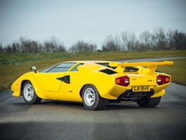 Žluté Lamborghini Countach: Osmdesátkový sen na prodej: titulní fotka