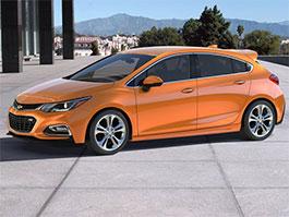 Z Chevroletu Cruze by mohl vzniknout hot-hatch: titulní fotka