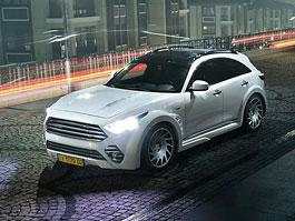 Infiniti QX70 proklatě blízko asfaltu: titulní fotka