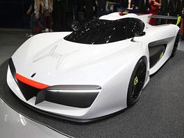 Pininfarina H2 Speed: Palivové články na start: titulní fotka