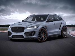Jaguar F-Pace CLR F bude pořádně divoký: titulní fotka