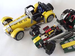 Lego již brzy nabídne Caterham Seven (+video): titulní fotka