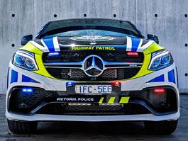 Mercedes-AMG GLE 63 S Coupe jako australský policejní speciál: titulní fotka