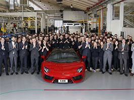 Lamborghini Aventador: 5 tisíc kusů a jedeme dál: titulní fotka