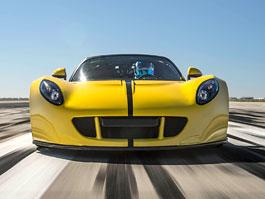 Hennessey Venom GT Spyder je nejrychlejší kabriolet na světě: titulní fotka