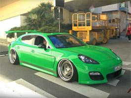 Video: Porsche Panamera v tuzingu: titulní fotka