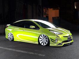 Toyota Prius jako atraktivní sportovec: titulní fotka
