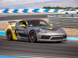 Vorsteiner upravil aerodynamiku Porsche Cayman GT4: titulní fotka