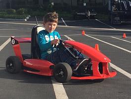 Arrow Smart-Kart: Chytrá elektrická kára pro děti: titulní fotka