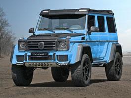 Mercedes-Benz G500 4x4<sup>2</sup>v zajetí uhlíkových vláken: titulní fotka