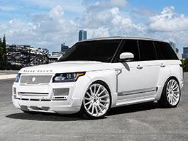 Range Rover od MC Customs: Bílá brutalita: titulní fotka