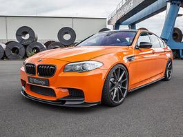 BMW M5: Oranžový pomeranč s výkonem přes 800 koní: titulní fotka
