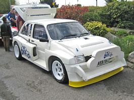 MG Metro 6R4 Group B: Závodní auto Colina McRae na prodej: titulní fotka