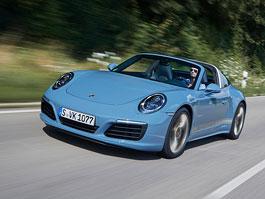 Porsche 911 Targa 4S Exclusive Design Edition vzpomíná na minulost: titulní fotka