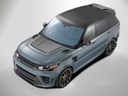 Overfinch Supersport je pořádně naštvaný Range Rover Sport SVR: titulní fotka