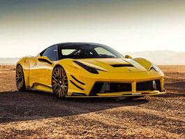 Ferrari 458 Italia jako lehce zběsilý žlutý koník: titulní fotka