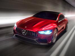 Mercedes-AMG GT Concept: Dárek k padesátinám: titulní fotka