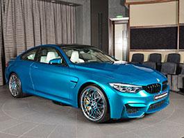 BMW M4 Competition v atlantické modré vypadá úžasně: titulní fotka