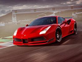 Autodrom Most je stylovou kulisou pro nové Ferrari 488 GTB N-Largo od Novitec Rosso: titulní fotka