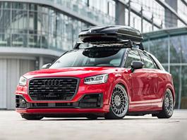 Audi Q2 od AH Exclusive Parts je proklatě nízko nad zemí: titulní fotka