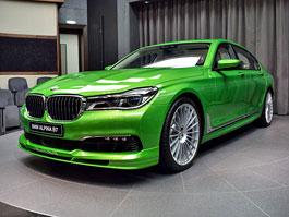 Alpina B7: Sluší decentnímu sedanu jedovatě zelená, nebo je to už příliš?: titulní fotka