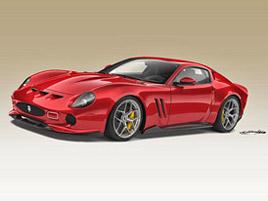 Jak se vám líbí moderní interpretace Ferrari 250 GTO? Vznikne maximálně 10 kusů: titulní fotka