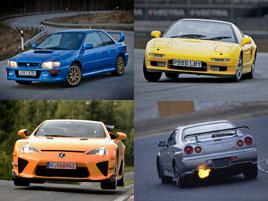 Pět nejlepších aut z Japonska. Souhlasíte s tímhle výběrem?: titulní fotka