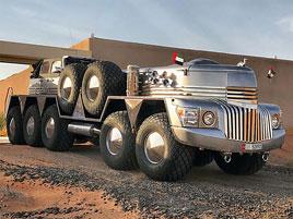 Zapomeňte na šestikolový Mercedes. V Dubaji můžete potkat tohle desetikolové monstrum: titulní fotka