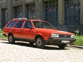 Řídili jsme Passat B2 z roku 1981. A pořád je to hodně příjemné auto: titulní fotka
