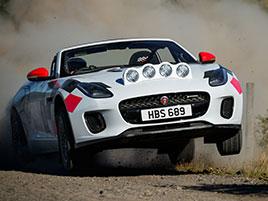 Jaguar postavil dva rallyové speciály. Z roadsteru F-Type: titulní fotka