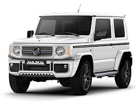 V Japonsku vám ze Suzuki Jimny udělají Mercedes třídy G nebo Land Rover Defender: titulní fotka
