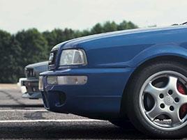 Dvě legendy proti sobě. Může první BMW M3 porazit první RS od Audi?: titulní fotka