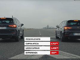 Cupra Ateca proti Leonu Cupra R. Může být SUV rychlejší než hot hatch?: titulní fotka