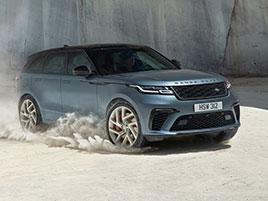 Range Rover Velar má novou vrcholnou verzi. Pohání ji osmiválec o výkonu 550 koní: titulní fotka