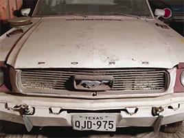 Podívejte se, jak se Mustang z roku 1965 po 44 letech