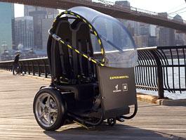 Segway Project P.U.M.A. - vozítko s dvěma koly na jedné ose: titulní fotka