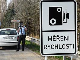 Městské policie se bouří: měření rychlosti nemá smysl: titulní fotka