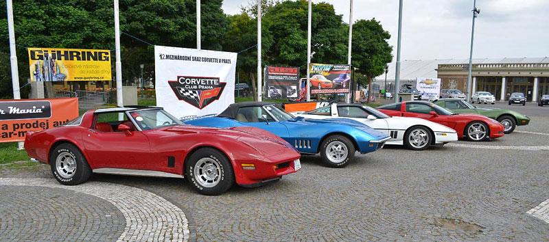 Corvette sraz Praha 2012: velká fotogalerie: - fotka 2