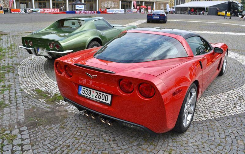 Corvette sraz Praha 2012: velká fotogalerie: - fotka 5